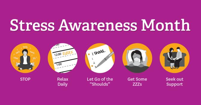 Stress Awareness Month image